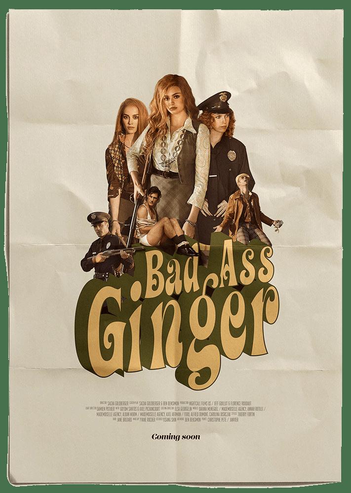 Sacha Goldberger – Bad Ass Ginger – June 2020